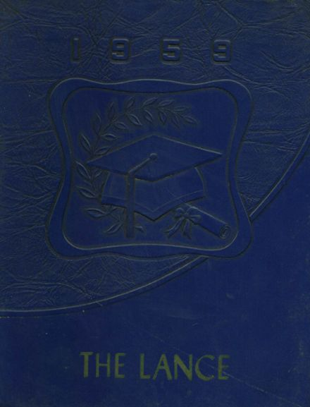 1959 St. Paul's High School Yearbook Cover