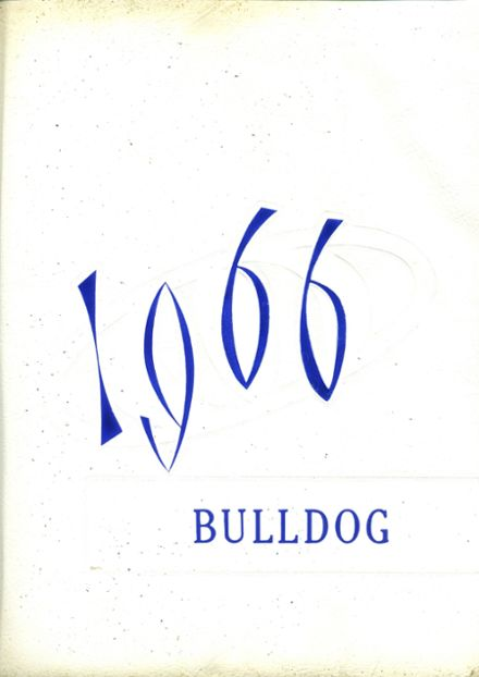 1966 Madison Area Memorial High School Yearbook Cover