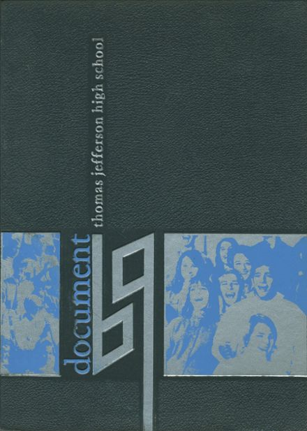 1969 Thomas Jefferson High School Yearbook Cover