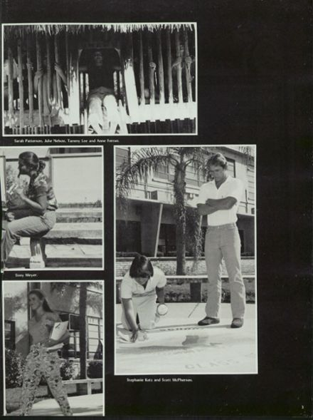 1981 Edgewater High School Yearbook Page 7