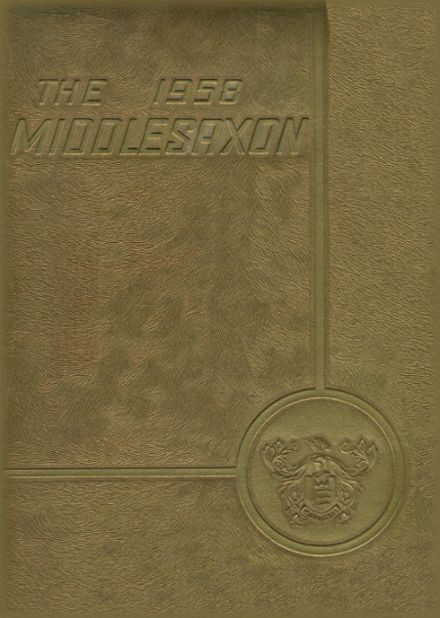 1958 Middlesex High School Yearbook Cover