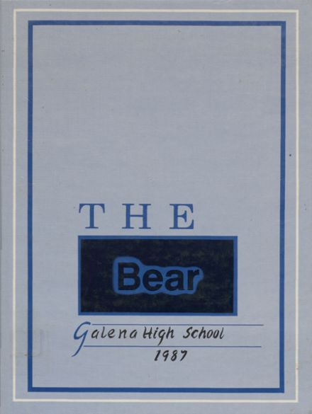 1987 Galena High School Yearbook Cover