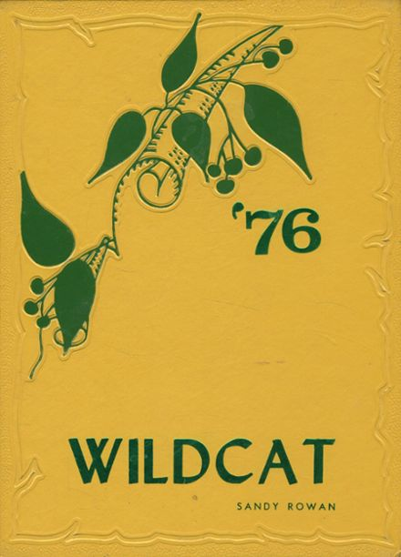 1976 Idalou High School Yearbook Cover