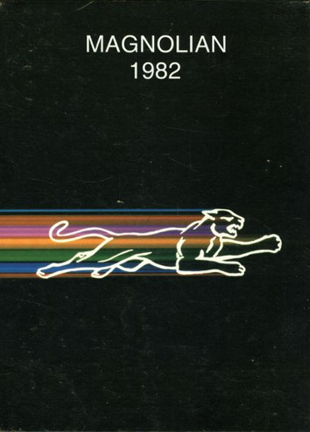 1982 Magnolia High School Yearbook Cover