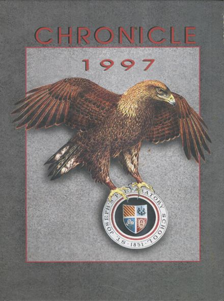 1997 St. Joseph's Prep School Yearbook Cover