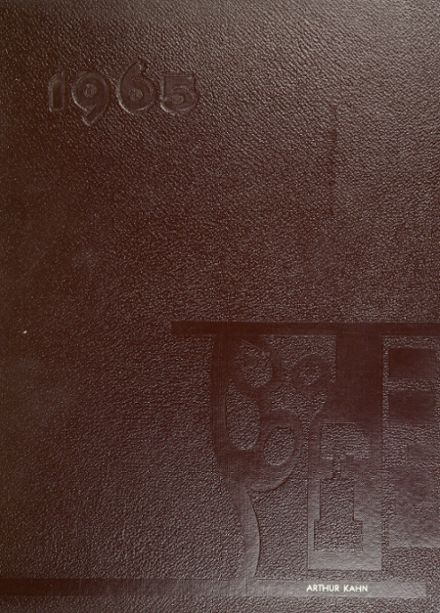 1965 Newton North High School Yearbook Cover