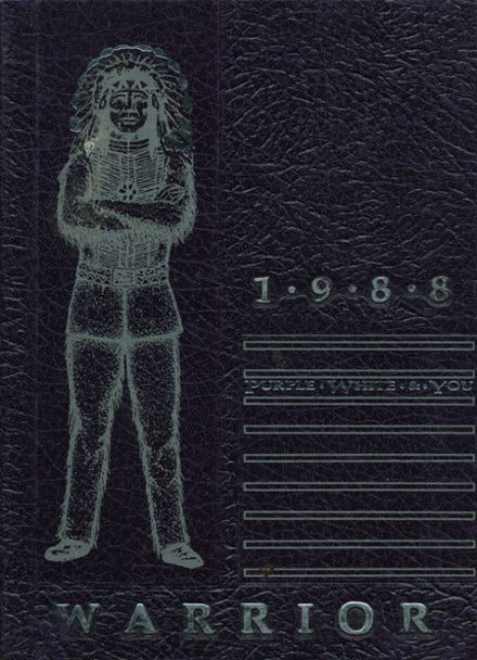 1988 Marion County High School Yearbook Cover