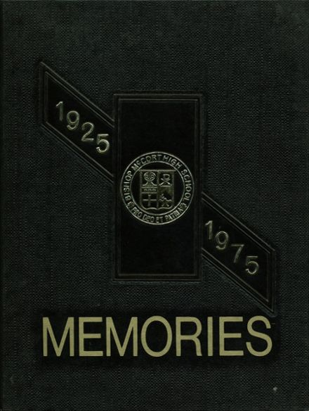 1975 Bishop McCort High School Yearbook Cover