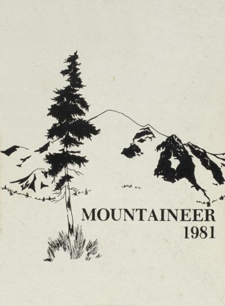 1981 Mt. Baker High School Yearbook Cover