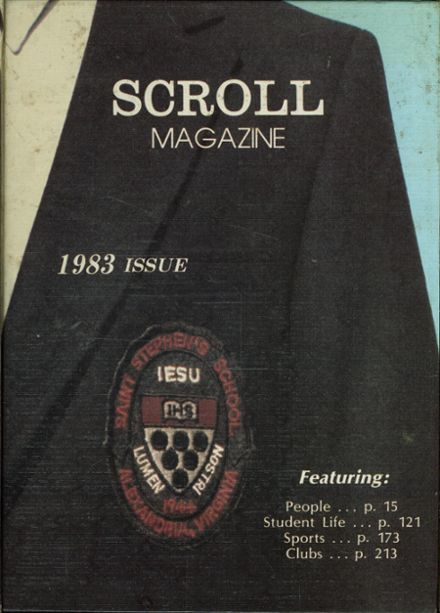 1983 St. Stephen's & St. Agnes School (Upper School) Yearbook Cover