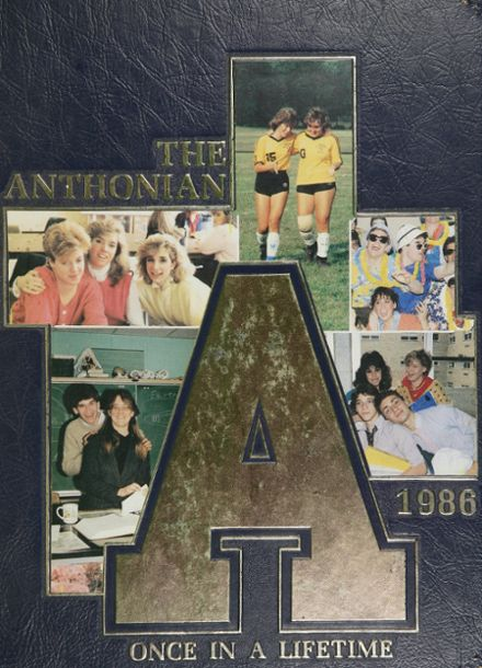 1986 St. Anthony's High School Yearbook Cover