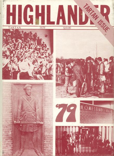 1979 Homestead High School Yearbook Cover