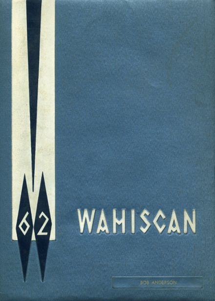 1962 Wausau High School Yearbook Cover