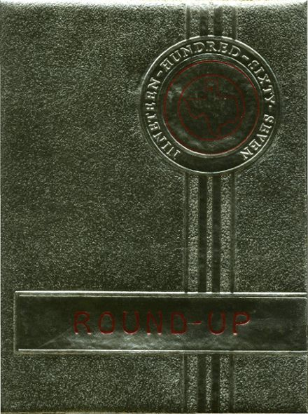 1967 St. Mary's Academy Yearbook Cover