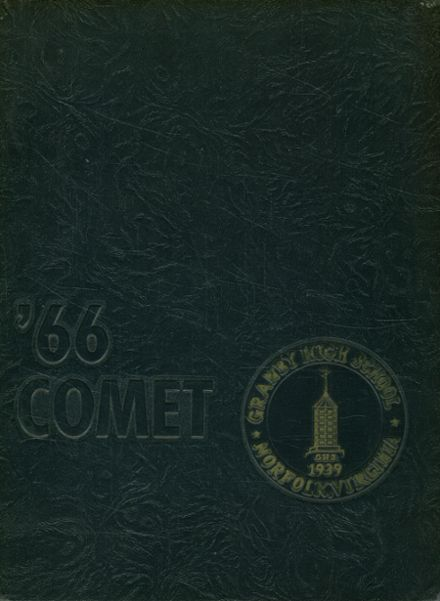 1966 Granby High School Yearbook Cover