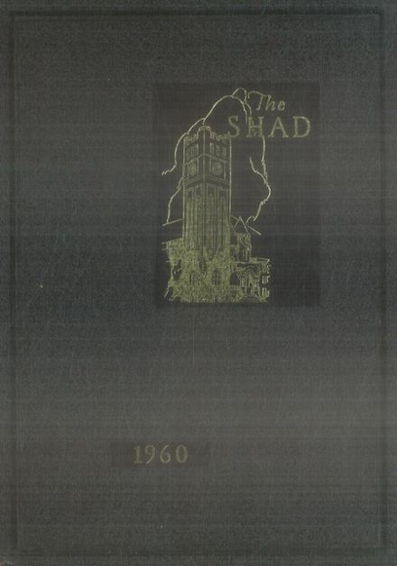 1960 Shattuck - St. Mary's School Yearbook Cover