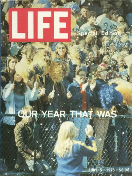 1973 North High School Yearbook Cover