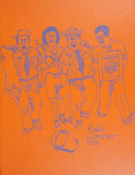 1978 Parkview High School Yearbook Cover