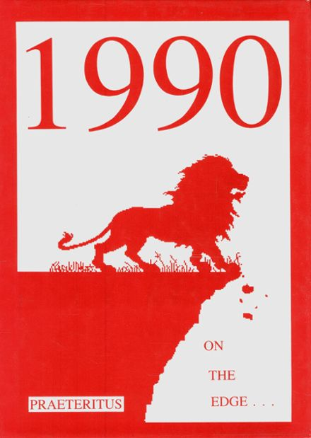 1990 St. Andrew's High School Yearbook Cover