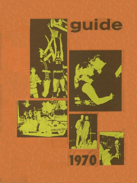 1970 Ashland High School Yearbook Cover