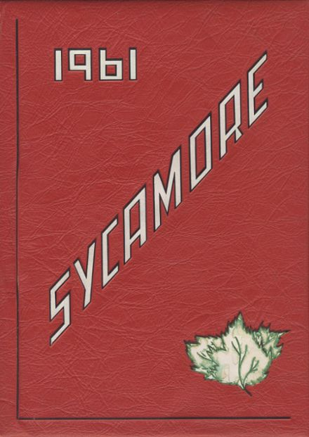 1961 Modesto High School Yearbook Cover