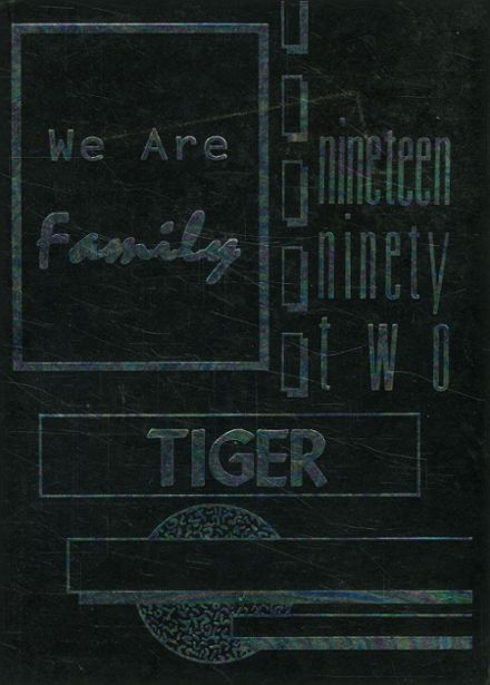 1992 Lincoln High School Yearbook Cover
