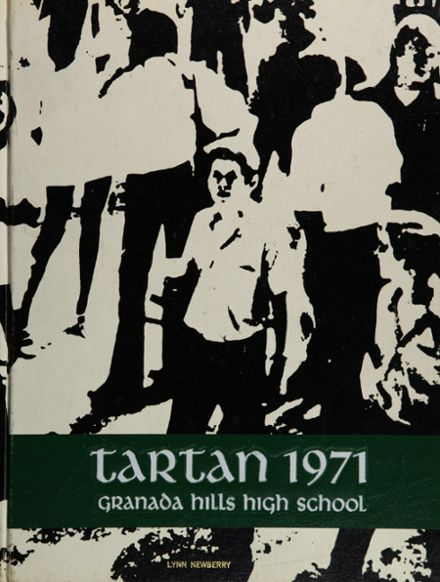 1971 Granada Hills High School Yearbook Cover