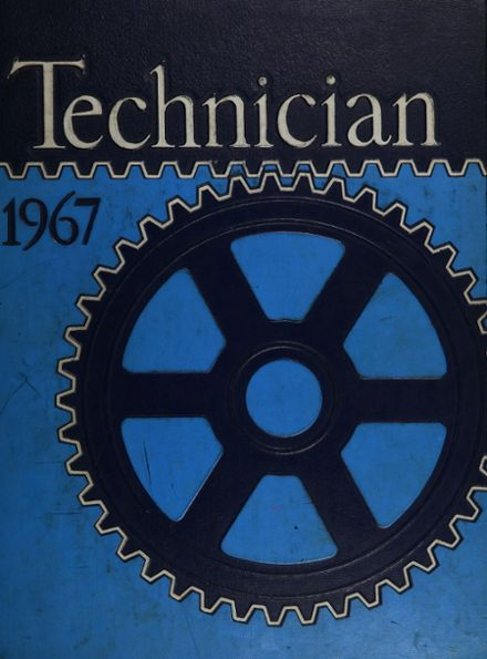 1967 Chicago Vocational Yearbook Cover