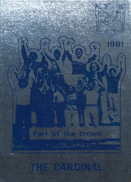 1981 Nelson County High School Yearbook Cover