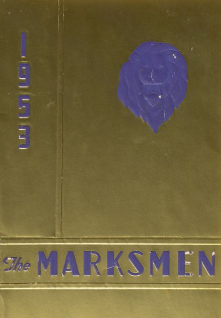1953 St. Mark's School of Texas Yearbook Cover