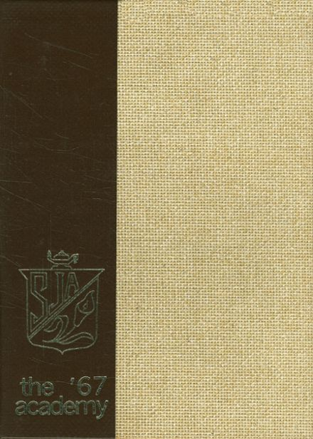 1967 St. Joseph's Academy Yearbook Cover
