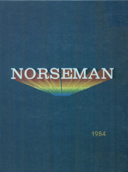 1984 Omaha North High School Yearbook Cover