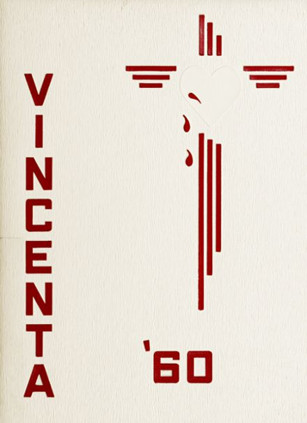1960 St. Vincent's High School Yearbook Cover