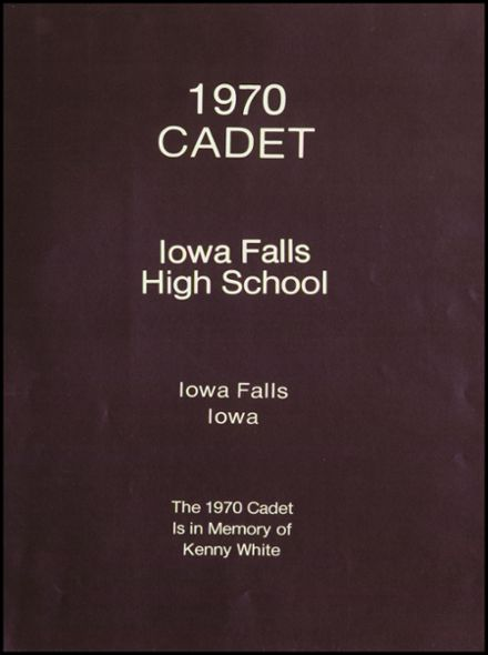 1970 Iowa Falls High School Yearbook Page 5