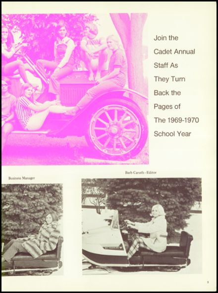 1970 Iowa Falls High School Yearbook Page 9