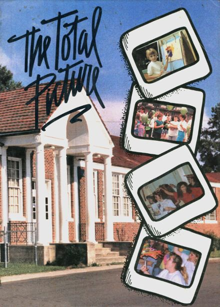 1991 Richland Attendance Cent High School Yearbook Cover