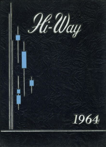 1964 St. Joseph's High School Yearbook Cover