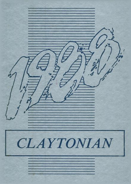1988 Clay City Community High School Yearbook Cover