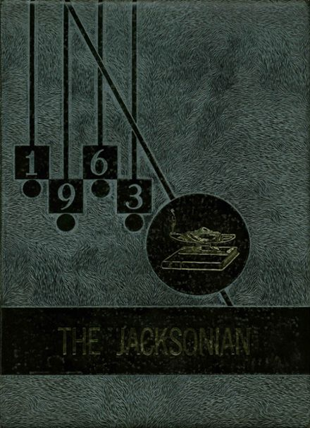 1963 L.P. Jackson High School Yearbook Cover