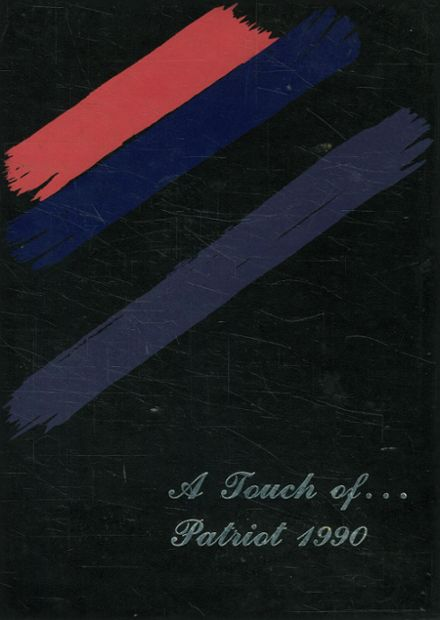 1990 Prairiland High School Yearbook Cover