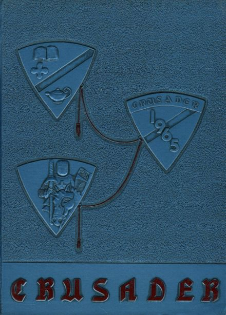 1965 St. Joseph's High School Yearbook Cover