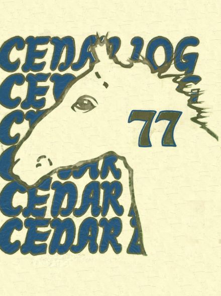 1977 Cedar Cliff High School Yearbook Cover