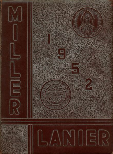 1952 Lanier High School for Boys Yearbook Cover