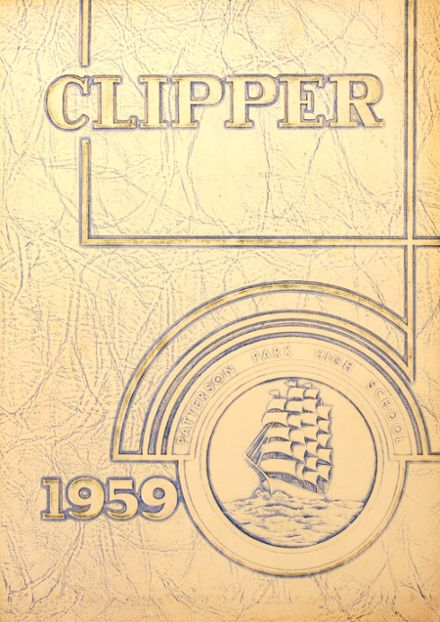 1959 Patterson High School Yearbook Cover
