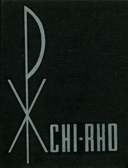 1967 St. Pius X High School Yearbook Cover