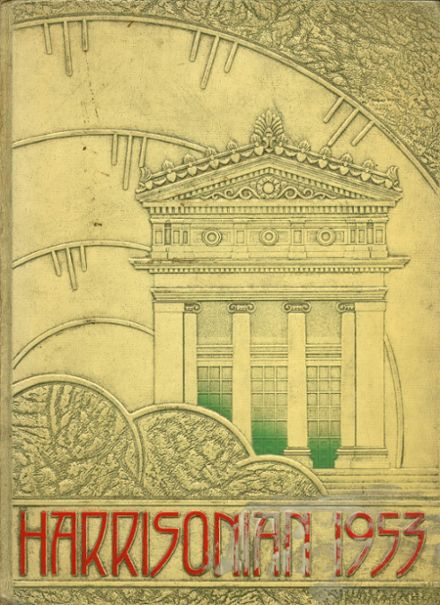1953 Harrison Technical High School Yearbook Cover