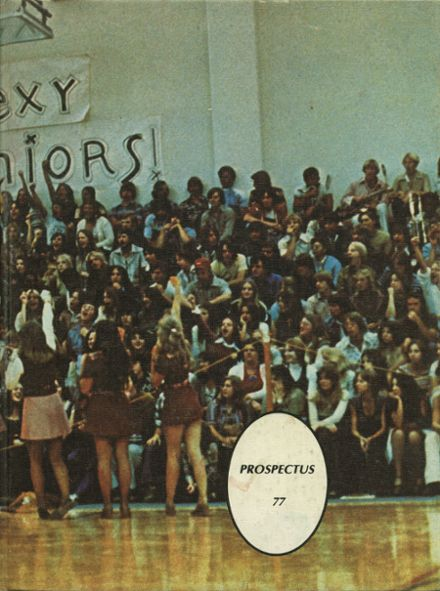 1977 Piner High School Yearbook Cover