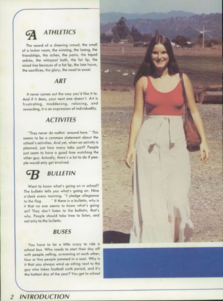 4/5; 1977 Piner High School Yearbook Page 6 ...