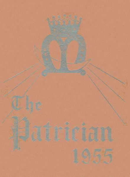 1955 St. Patrick's High School Yearbook Cover