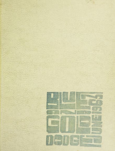 1963 Grace H. Dodge Vocational High School Yearbook Cover